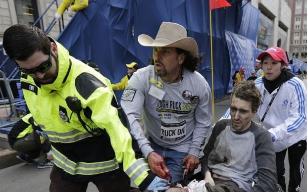 Boston Marathon Bombing In Pictures 12