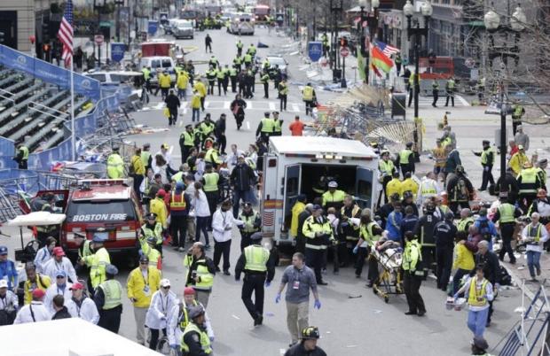 Boston Marathon Bombing In Pictures 3