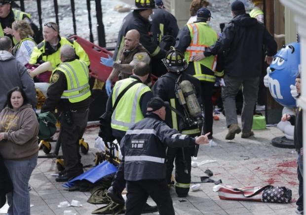 Boston Marathon Bombing In Pictures 4