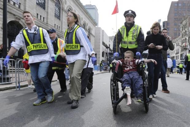 Boston Marathon Bombing In Pictures 6