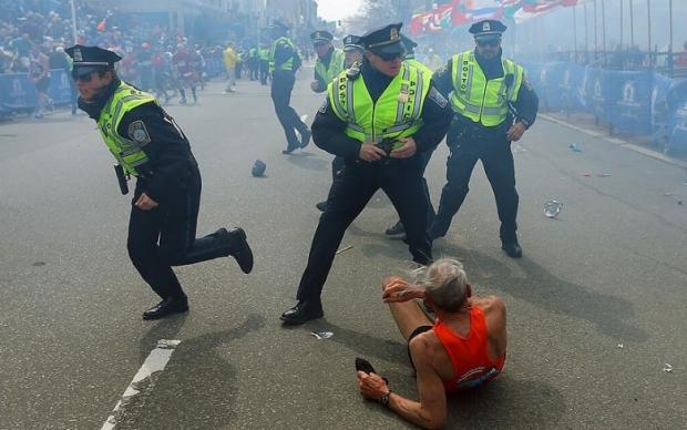 Boston Marathon Bombing In Pictures 7
