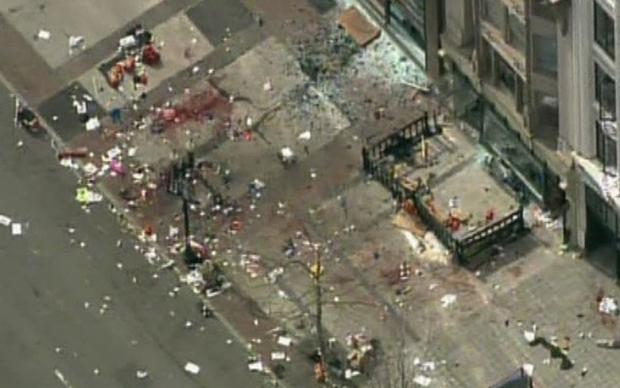 Boston Marathon Bombing In Pictures 8