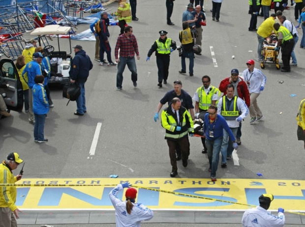 Boston Marathon Bombing In Pictures Boston Marathon Bombing In Pictures