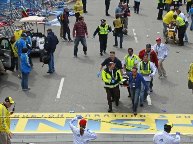 Boston Marathon Bombing In Pictures