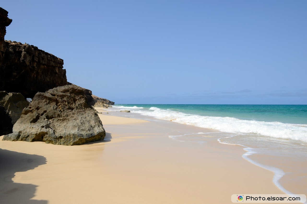 Branca Beach, Boavista, Cape Verde