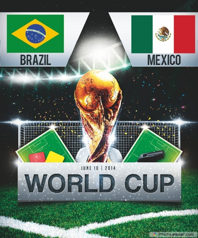 Brazil vs Mexico - World Cup 2014 - 16:00 Local time - GROUP A - Estadio Castelao - Fortaleza