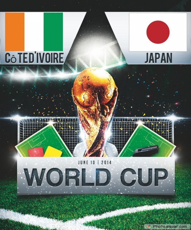 Côte d'Ivoire vs Japan - World Cup 2014 - 22:00 Local time - GROUP C - Arena Pernambuco - Recife