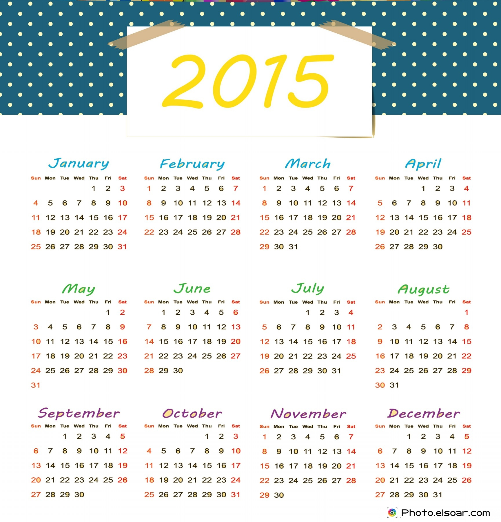1729 x 1800 · 736 kB · jpeg, 2015 Free Printable Calendars Com