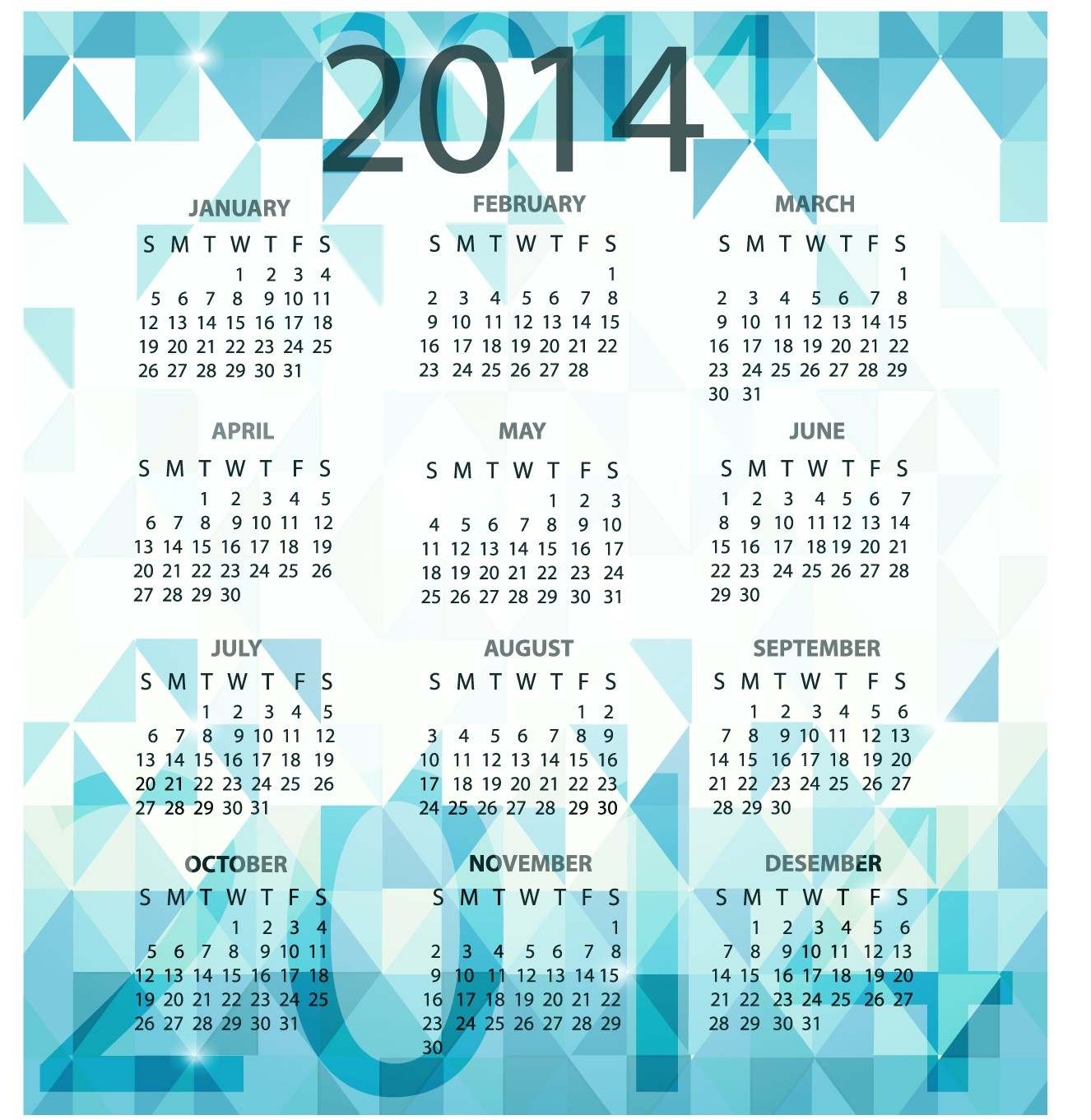 "thoughts on "" Calendar for 2014 Free Download """