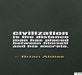 Civilization is the distance