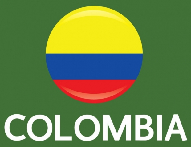 Colombia Flag FIFA World Cup