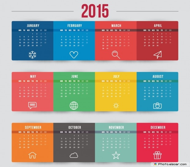 Printable Business Calendar 2015 Templates For Companies
