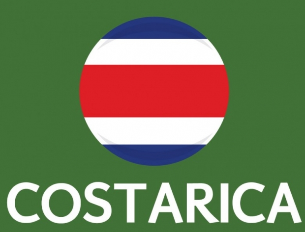 Costa Rica Flag FIFA World Cup