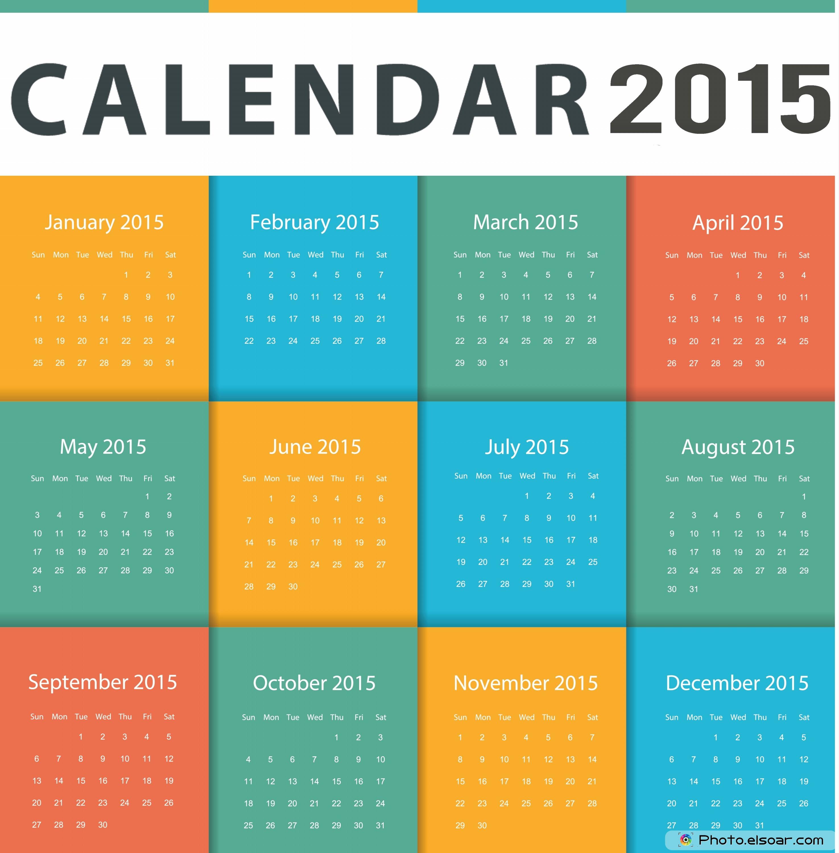 Creative Calendar Layout