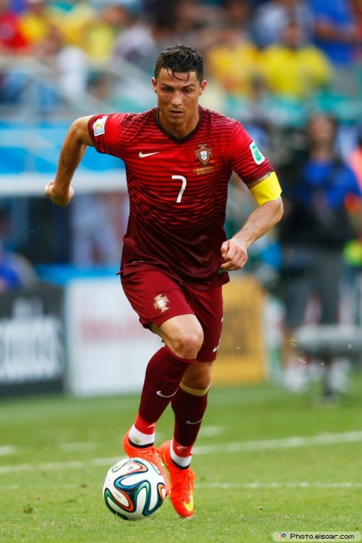 Cristiano Ronaldo With Portugal In The 2014 FIFA World Cup – Photos ...