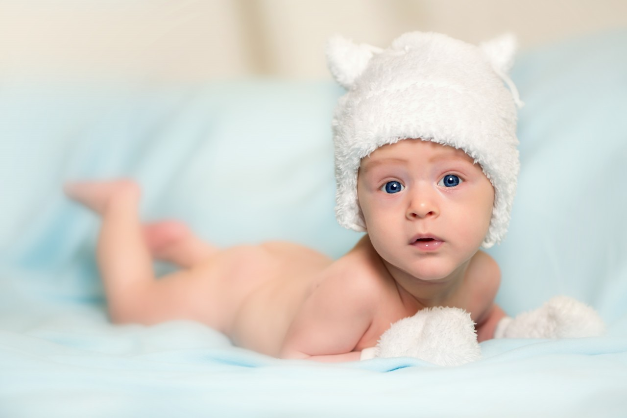 Cute Baby Boy Beautiful Photo A