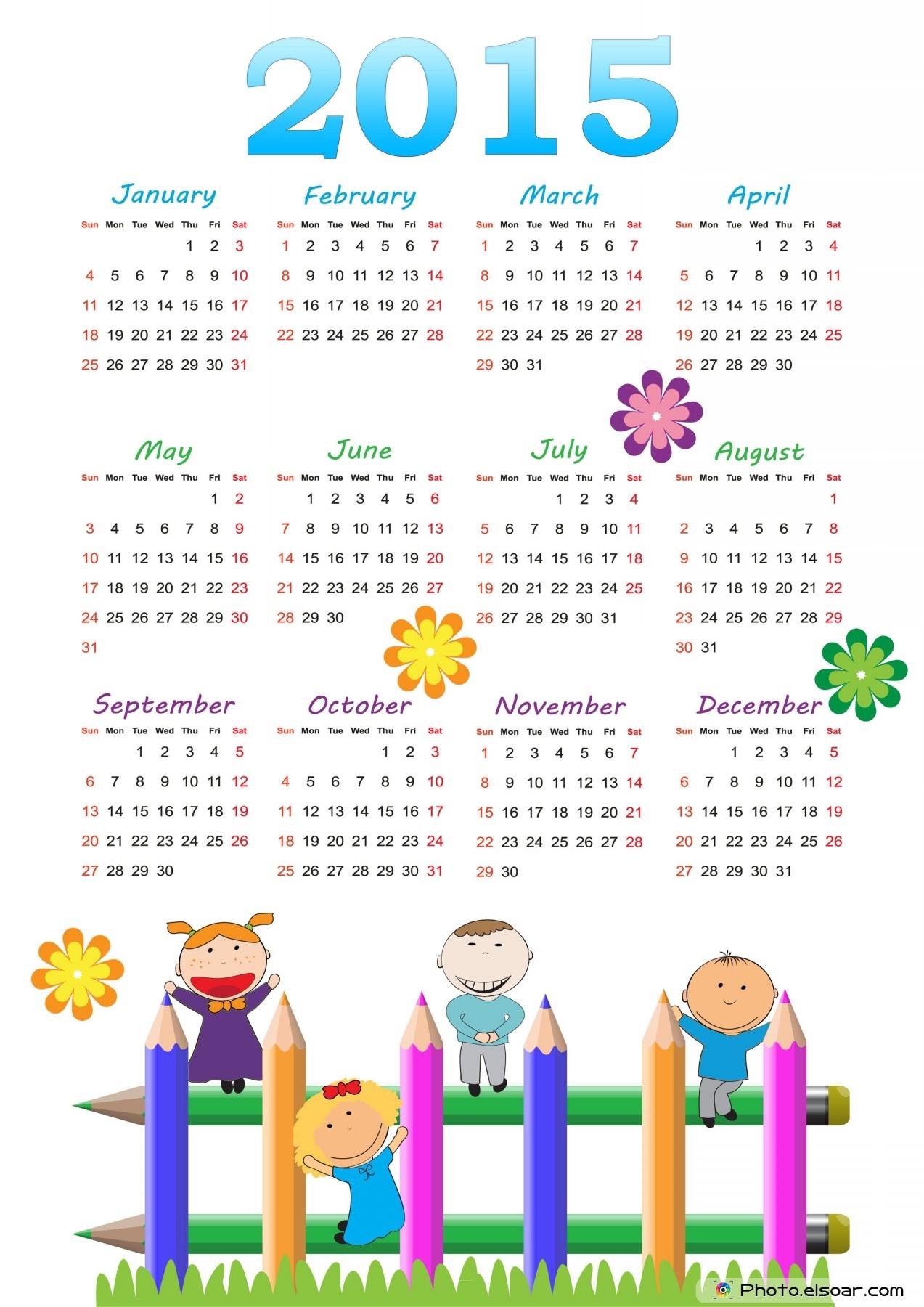 Top 10 Designs For 2015 European Calendars • Elsoar