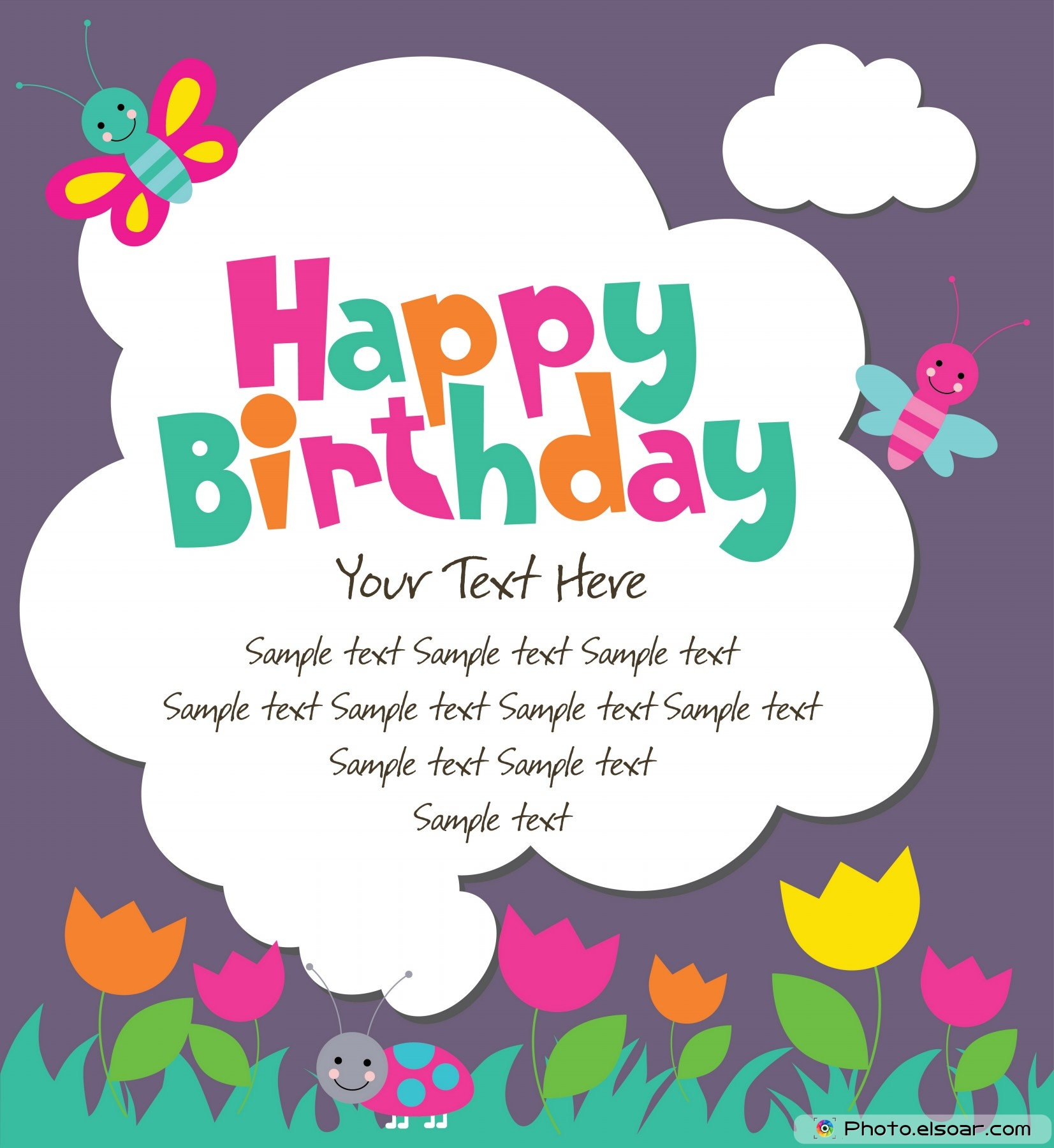 10 Unprecedented Birthday Cards FREE ELSOAR – Birthday Card with Pictures
