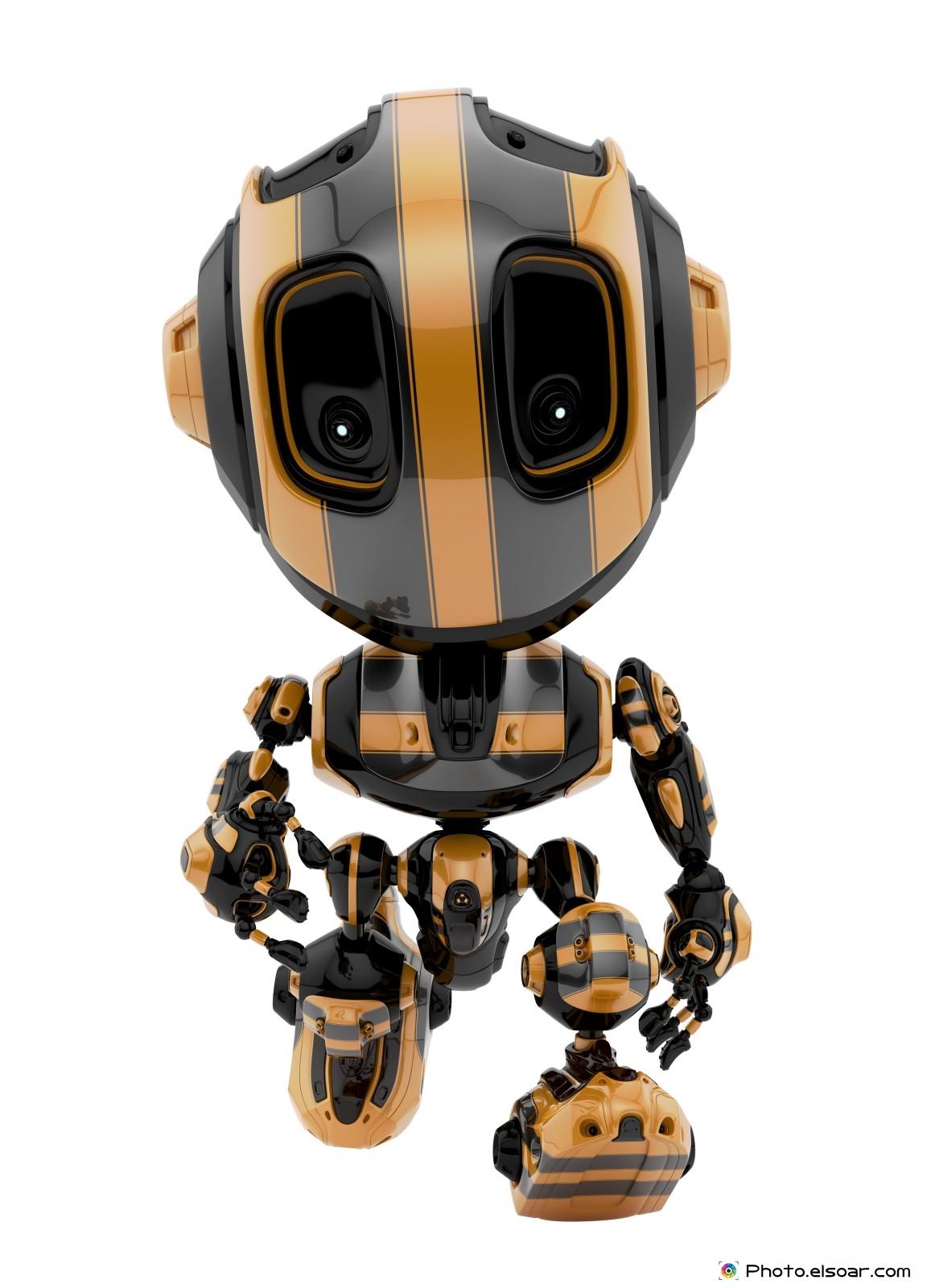 25 Cool Gel Nails Design Ideas: 25 Cool, Funny ,Cute Robot Character Designs • Elsoar