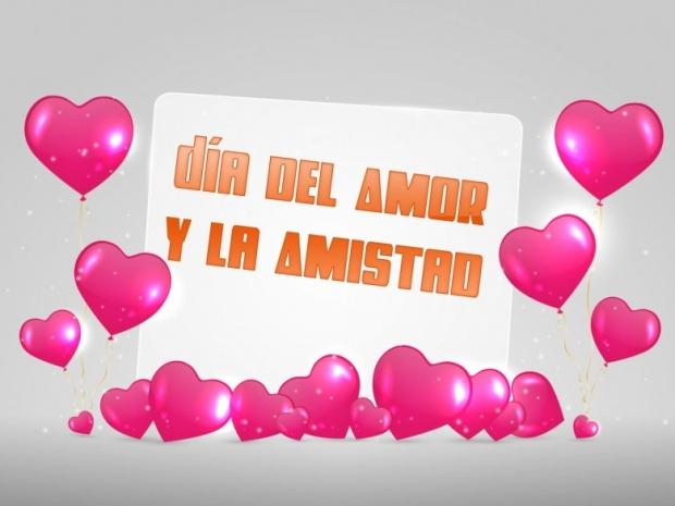 Día del Amor y la Amistad Imagen de la tarjeta B