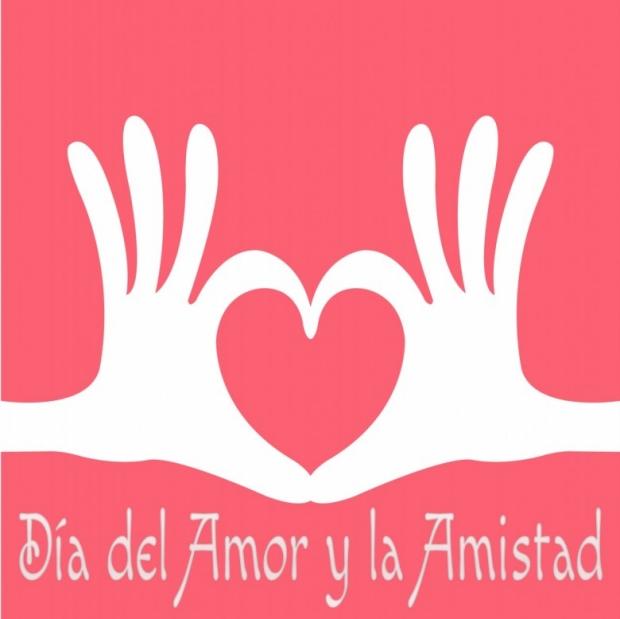 Día del Amor y la Amistad Imagen de la tarjeta C