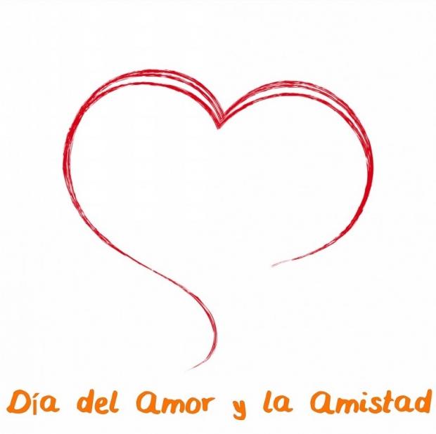 Día del Amor y la Amistad Imagen de la tarjeta D