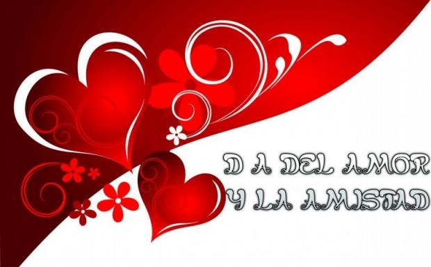 Día del Amor y la Amistad Imagen de la tarjeta F