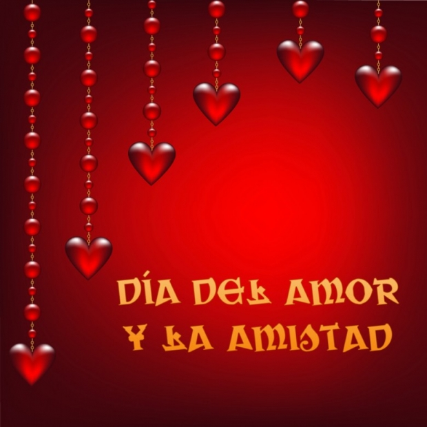 Día del Amor y la Amistad Imagen de la tarjeta K