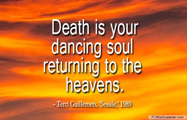 Death is your dancing