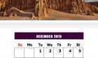 December 2015 Calendar Design