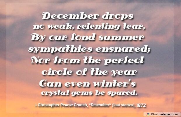 December drops no weak