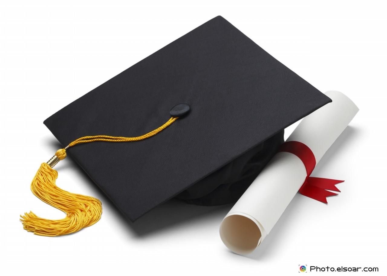 graduation caps students books elsoar degree black graduation cap