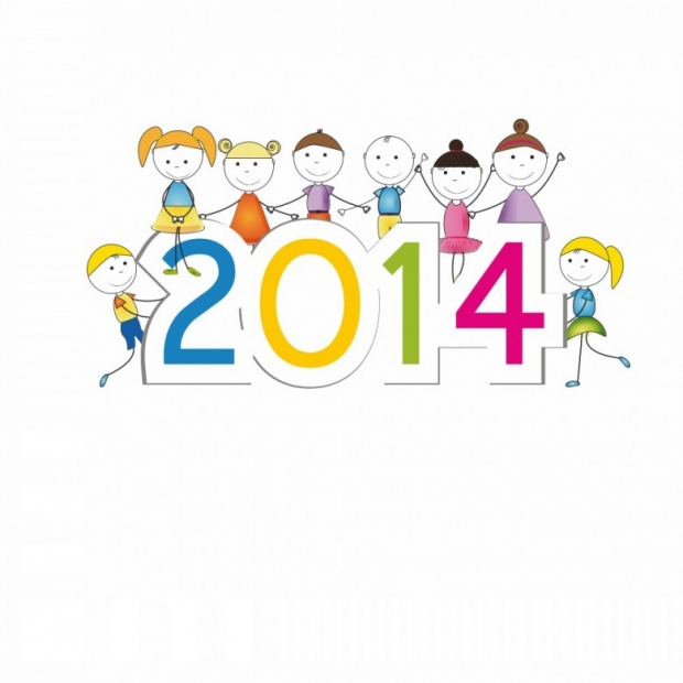 Designs for Kids. Happy New Year 2014 n 3