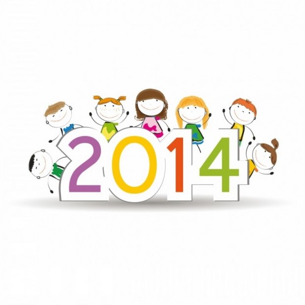 Designs for Kids. Happy New Year 2014 n 5