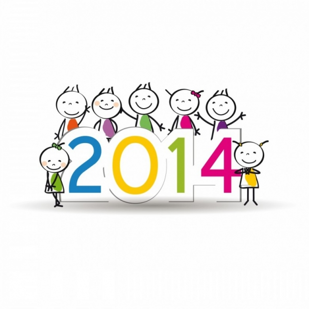 Designs for Kids. Happy New Year 2014 n 7