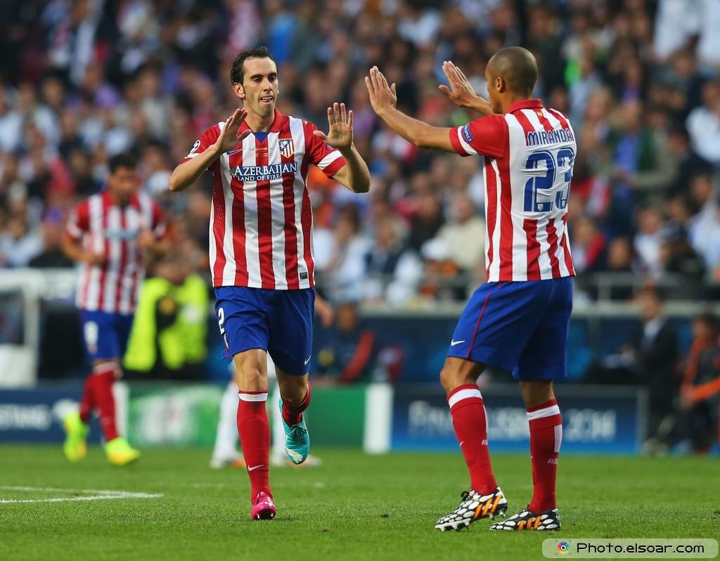 Diego Godin – Real Madrid v Atletico de Madrid – UCL Final 2014