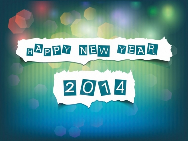 Different Design Happy New Year 2014 Imagem 3