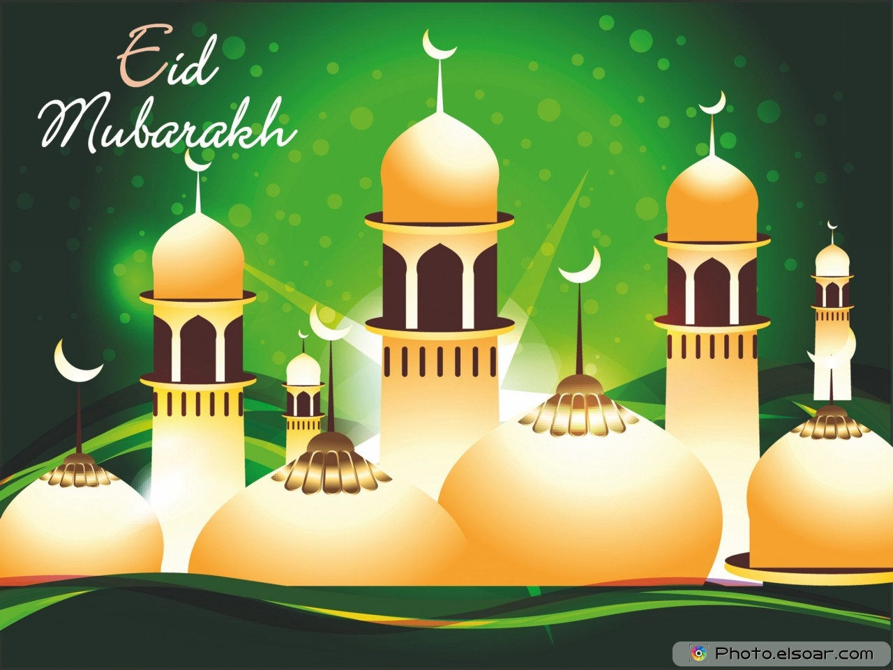 Eid Mubarak Free HD Wallpaper