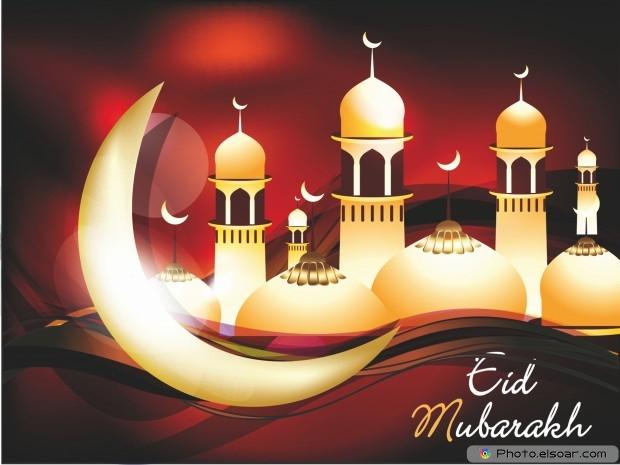 Eid Mubarak HD Free Wallpaper