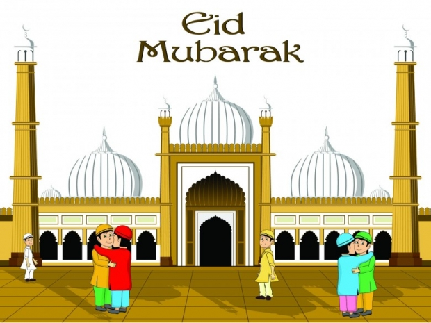 Eid ul-Fitr 2013 Greeting Images