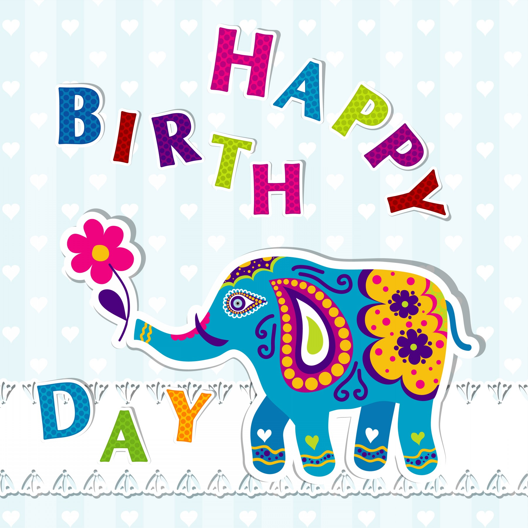 Doc Birthday Card in Word birthday card template microsoft – Happy Birthday Card Template Free Download