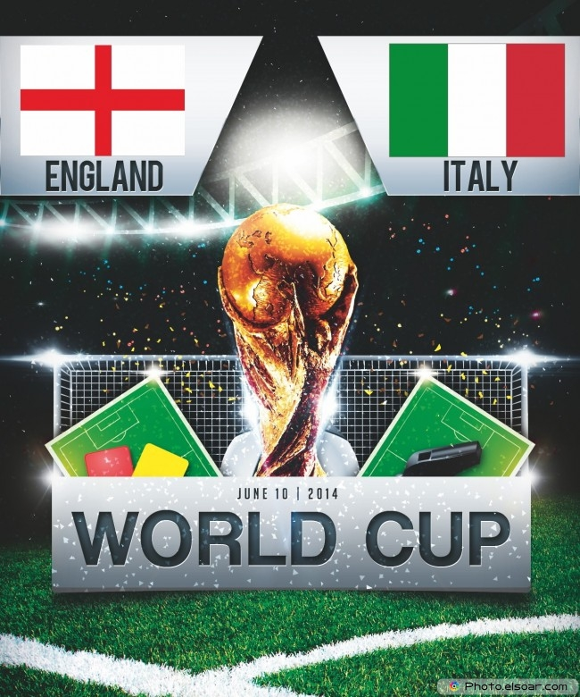 England vs Italy - World Cup 2014 - 18:00 Local time - GROUP D - Arena Amazonia - Manaus
