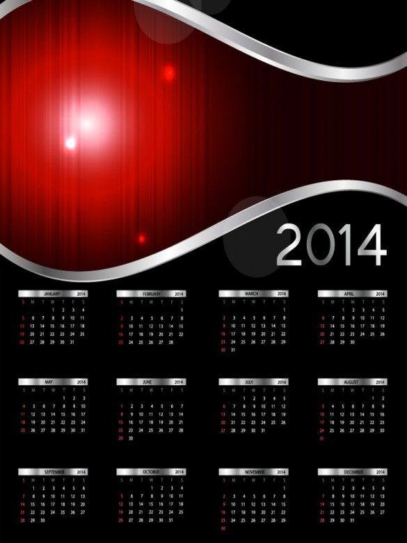 Exquisite Designs Calendar 2014 14