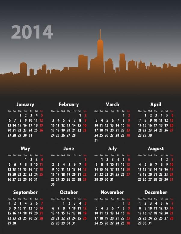 Exquisite Designs Calendar 2014 4