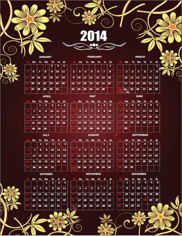 Exquisite Designs Calendar 2014 5