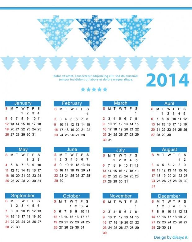 Exquisite Designs Calendar 2014 7
