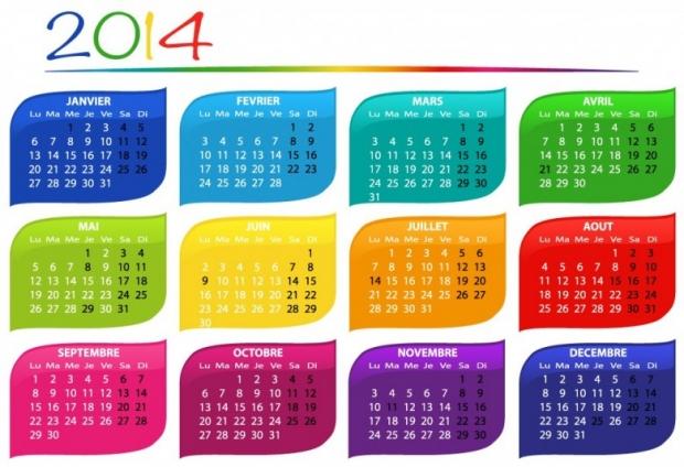 FREE 2014 Calendar Large Size 5