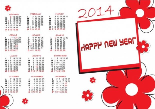 FREE 2014 Calendar Large Size 7