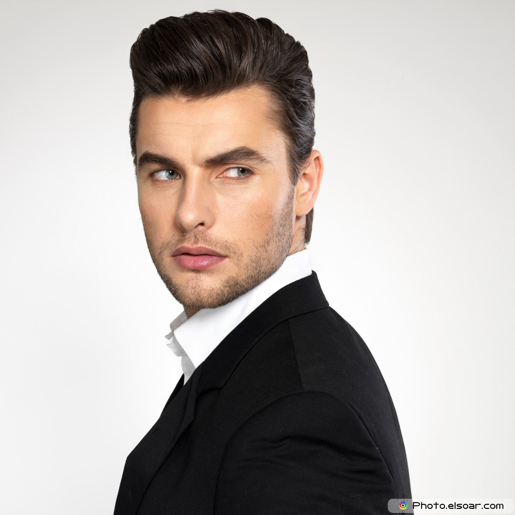 Modern Pompadour Haircut Men
