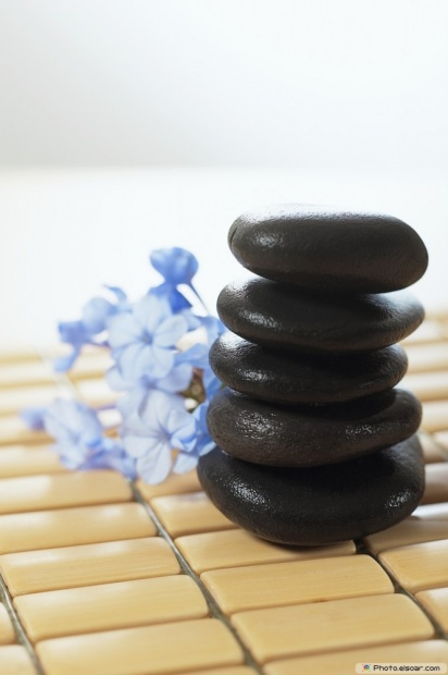 Five Of Smooth Massage Stones